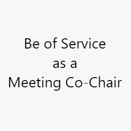 Meeting Co-Chair